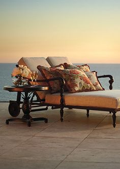 The perfect way to watch the sunset...