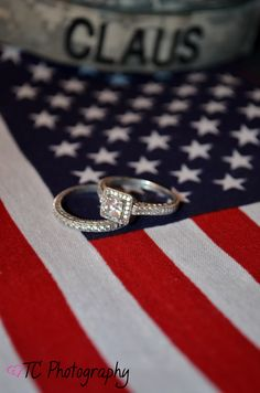 Of July Wedding: American Flag Photography Military Couples, Military Love, Military Photos, Army Love, Military Engagement Pictures, Army Wedding, Wedding Pics, Military Weddings, Wedding Ideas