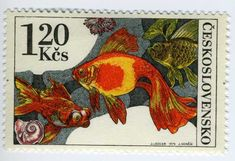 Goldfish stamp