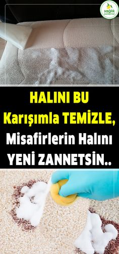 When You Clean The Carpet With This Homemade Mix, Your Guests Eat Your Carpet Türk, Türkan Sultan - Home Cleaning Cleaning Materials, Natural Cleaners, Household Cleaners, Cleaners Homemade, Diy Arts And Crafts, Organizing Your Home, Keep In Mind, Housekeeping, Clean House