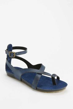 MIA Gumdrop Ankle-Wrap Sandal $60.00