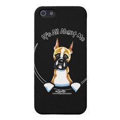 #Animals                                        Funny Boxer iPhone 5 Cases                   It's all about the Boxer! Original design for merchandise by Andie of Off-Leash Art using her own hand drawn illustration. Andie aims to capture the unique characteristics of each breed so that more people will have the opportunity to own something that has a drawing that looks like THEIR dog. Find more great dog lover designs b..