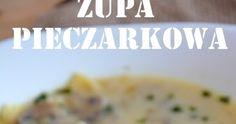 Pieczarkowa jest jedną z moich ulubionych zup zaraz po grzybowej. Wolę ją najbardziej w niezmiksowanej postaci podaną z makaronem. A c... Polish Recipes, Baked Potato, Mashed Potatoes, Recipies, Food And Drink, Baking, Ethnic Recipes, Diet, Whipped Potatoes