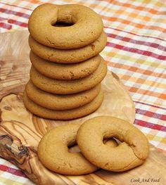 Grape Molasses Cookies / Μουστοκούλουρα   Cook And Feed