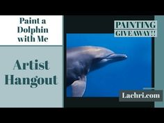 Paint a Dolphin W/ Me