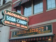 A must stop for that sweet tooth. Lagomarcino's on 5th Avenue.