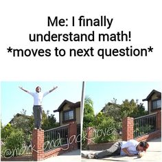 This is definitely me. It feels good when I understand something but then when you go on to new things, and new questions, you all the sudden have no idea how to do it.