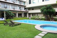 Courtyard pool and Jacuzzi Autentico Hotel  San Jose - Costa Rica #travel #vacation #hotel