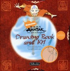 Nickelodeon Avatar: The Last Airbender Drawing Book and Kit: Includes Everything You Need to Draw Your Favorite Characters (Nickelodeon Drawing Books & Kits) by Shane Johnson, http://www.amazon.com/dp/1600580602/ref=cm_sw_r_pi_dp_rjaUrb1WXXXZ4