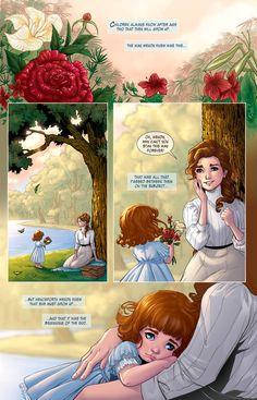 Peter Pan: Page Preview 1 by RenaeDeLiz.deviantart.com on @deviantART