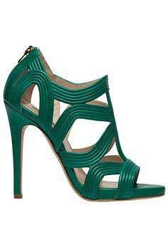 #eliesaab #green #sandals #highheels