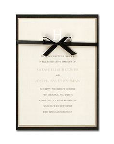 Loving the simplicity of the invite.