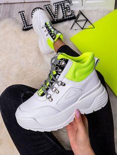 Dámske bielo-zelené mohutné tenisky LV111ZE Jordans Sneakers, Air Jordans, Sport, Fashion, Deporte, Fashion Styles, Air Jordan, Sports, Fashion Illustrations