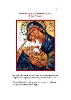 I N N I & Preghiere alla Vergine Maria