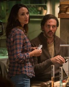 """""""It's really not done to mix species in the Wesen world. That really comes into play in these first 13 episodes,"""" Bree Turner teases of Rosalee and Monroe's """"Grimm"""" relationship problems."""