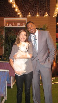 Andrea Arden with Michael Strahan and Nora Arden: Live with Kelly & Michael 09/26/12