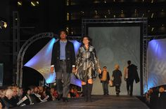 Downtown Fall Fashion Show held outdoors at the Peace Plaza #rochmn