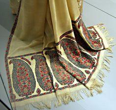 Shawl. Cashmere, silk. India, circa 1805.