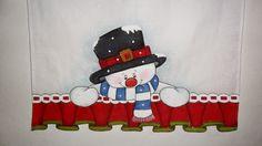 Cantinho arte da pintura : Outubro 2014 Snowman Decorations, Snowman Crafts, Christmas Crafts, Christmas Decorations, Fabric Painting, Snoopy, Scrapbook, Halloween, Color