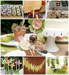 What an adorable idea for a kid's birthday party - Garden Party! Check out this inspiration board and the creative ideas for this theme on 3d-memoirs.com! #kids #birthdayparty