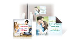 Save The Date Magnets - SUPER CHEAP in bulk! Around $0.25 per magnet for 200.