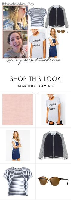"""""""vlog"""" by zoella-fashionx ❤ liked on Polyvore featuring Adolescent Clothing, ASOS, Topshop and Ray-Ban"""
