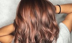 Rose-brown Is The Prettiest New Hair Color For Brunettes