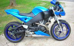 Buell firebolt xb9r 3900 in sapphire blue
