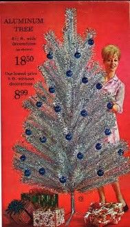 Image result for Old-Fashioned Aluminum Christmas Tree