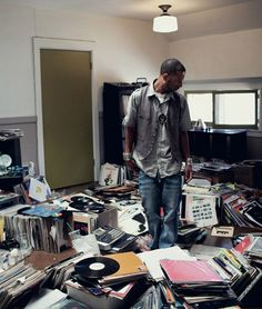 Madlib the Beat Konducta, one half of Madvillain and the man behind Lord Quas