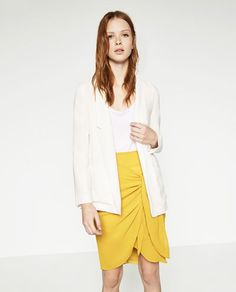 Image 1 of LONG FLOWING BLAZER from Zara