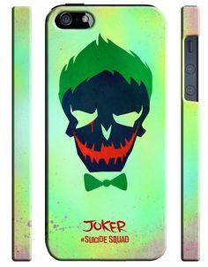 Suicide Squad Joker Iphone 4 4S 5 5S 5C 6S 7 8 X + Plus Se Case Cover 9