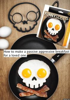 How to make a passive aggressive breakfast - http://www.jokideo.com/