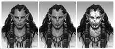 ArtStation - The Art of Warcraft Film - Draka, Wei Wang
