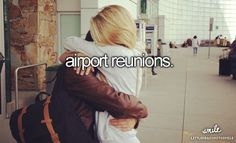 Airport reunions