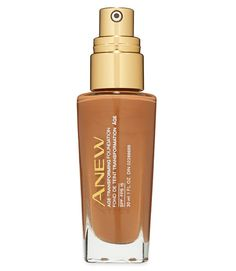 "Women favored Avon Anew Age-Transforming Foundation SPF 15 ($16, avon.com; 14 shades) for going on smoothly as well as providing just the right amount of coverage. It also earned high moisturizing and firming scores in the lab. Testers said: ""It gave my skin a great glow, and I felt like I wasn't wearing anything.""  - GoodHousekeeping.com"