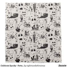 Celebrate Spooky - Pattern: Jack Skellington #ad