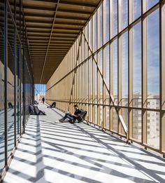 The Alb'Oru cultural centre in Bastia by DDA Architectes