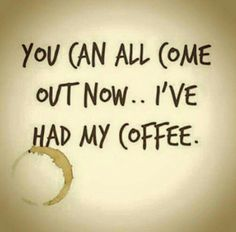 Here's some proof just how coffee can influence one's thinking. Check out these coffee quotes and coffee mugs with great quotes that have been around for years. Coffee Talk, Coffee Is Life, I Love Coffee, But First Coffee, My Coffee, Coffee Cups, Coffee Lovers, Coffee Shop, Coffee Girl