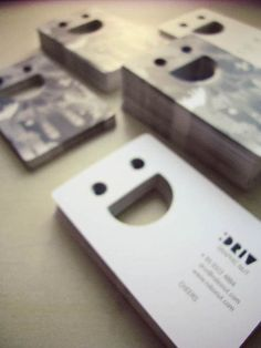40 Inspiring Business Card Designs --> reppined by www.kickresume.com