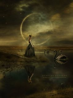 The Black Lake by Carlos-Quevedo.deviantart.com on @DeviantArt