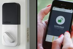 Lockitron Bolt by #lockitron Your Remote Smart Doorman http://en.belzino.com/5152b