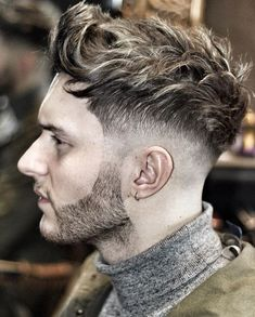 Super fresh mens hairstyles 2016 2017 with hottest hair colors #menshairstyles2017