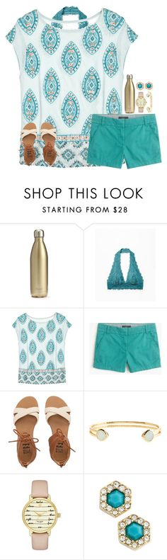 """""""Teal makes me happy//Rtd for account update ;)"""" by jululily ❤ liked on Polyvore featuring S'well, Free People, Calypso St. Barth, J.Crew, Billabong, Monsoon, Kate Spade and Rebecca Minkoff"""
