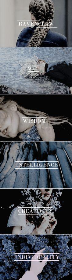 """Wit beyond measure is man's greatest treasure."" - Rowena Ravenclaw #hp"