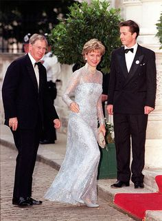 The Duke and Duchess of Gloucester arrive at Bridgewater House for an event to celebrate the marriage of Princess Alexia, daughter of King Constantine, the former King of Greece.© Press Association