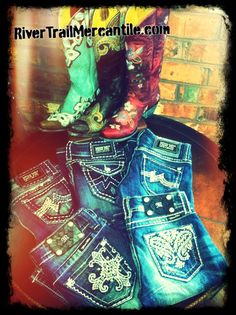 Miss Me Jeans and Old Gringo Boots at RiverTrailMercantile.com!