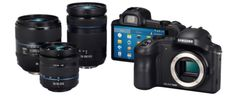 Samsung Galaxy NX is a professional camera running Android Jelly Bean