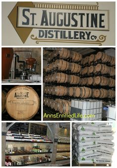 St. Augustine Distillery; A review of our tour through the St. Augustine Distillery located which is in a historic ice manufacturing plant built in 1917 in St. Augustine, Florida.  http://www.annsentitledlife.com/florida/st-augustine-distillery/