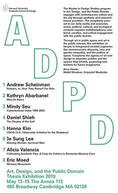 GSD Art, Design and the Public Domain Harvard Gsd, Harvard University, Graduate School, Public Domain, Politics, Design, Art, Art Background, University